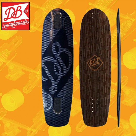 "Db Longboards Keystone Ridge V2 33"" Tavola Longboard Freeride Slide"