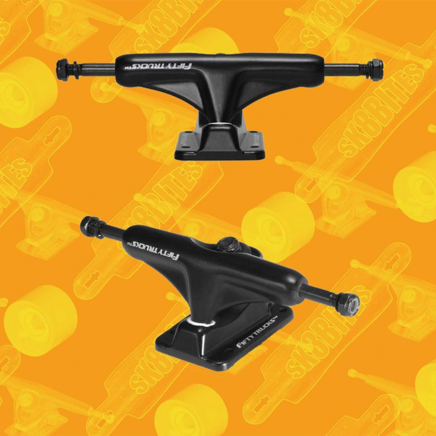 Destructo D1 Raw Mid 5.25 Attacchi Skateboard Street Trucks