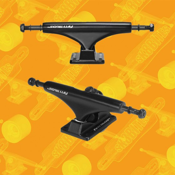 "Fifty Trucks Park 5,5"" Attacchi Skateboard Street Trucks"