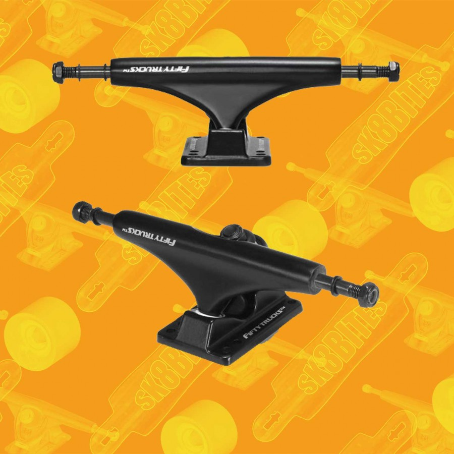 "Fifty Trucks Street 5"" Attacchi Skateboard Street Trucks"