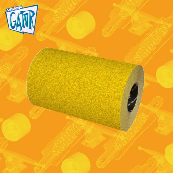 "Gator Stadium Mustard Grip 11""  per 10cm Grip Adesivo Skateboard Street"