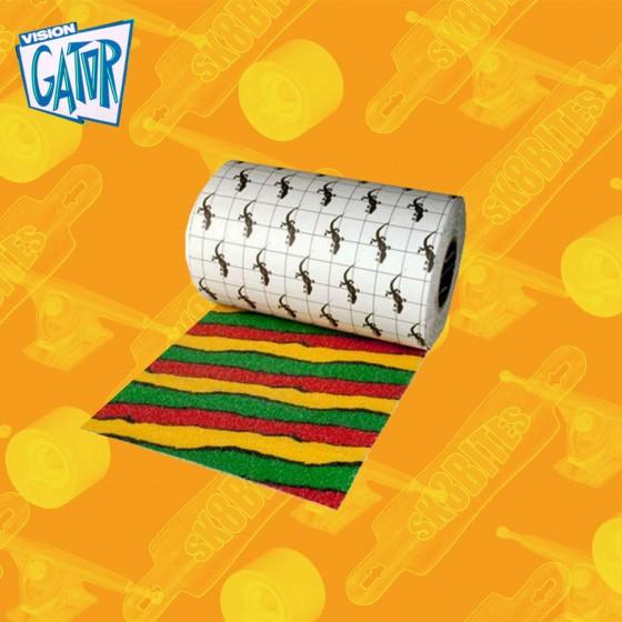 "Gator Stadium Mustard Grip 11"" Street  Skateboard Grip"