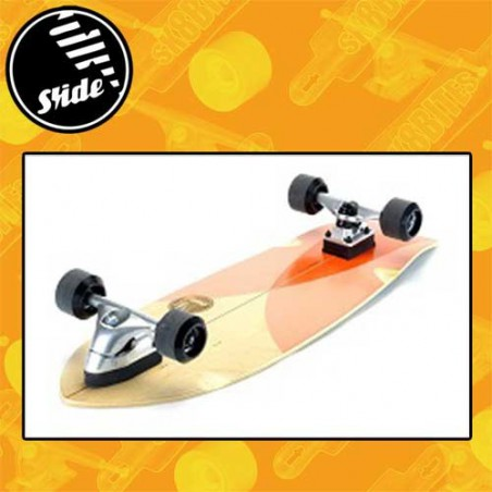 "Slide Surfskate Fish 32"" Tuna Complete Surskate Carving Cruising Deck"