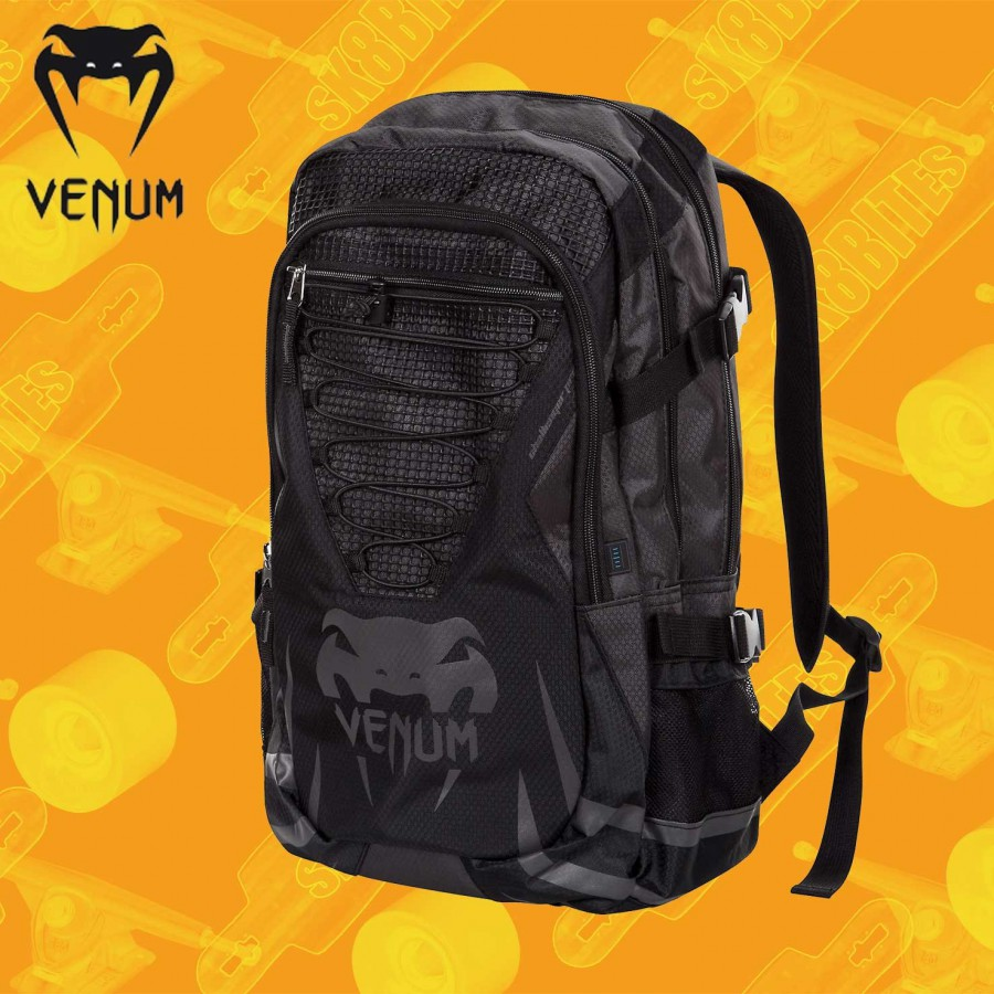 Venum Challenger Pro Black Grey Backpack Zaino Streetwear