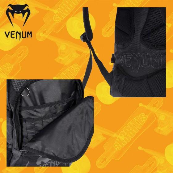 Venum Challenger Pro Black Black Backpack Zaino Streetwear