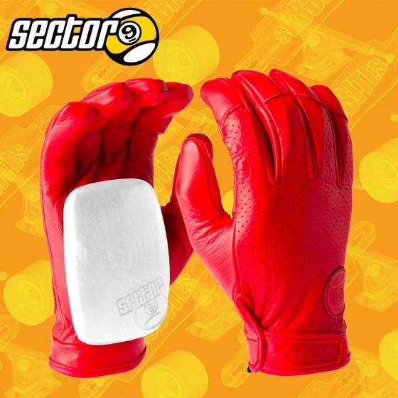 Sector 9 Driver Green Longboard Freeride Slide Gloves