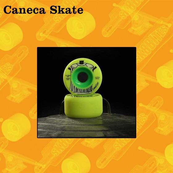 Caneca Skate Arroz 70mm Ruote Longboard Slide Freeride
