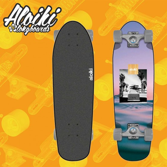 "Aloiki Cliff 30"" Camo Pink Complete Cruising Carving Deck"
