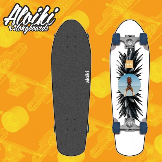 "Aloiki Softy 27.5"" Complete Cruising Carving Deck"