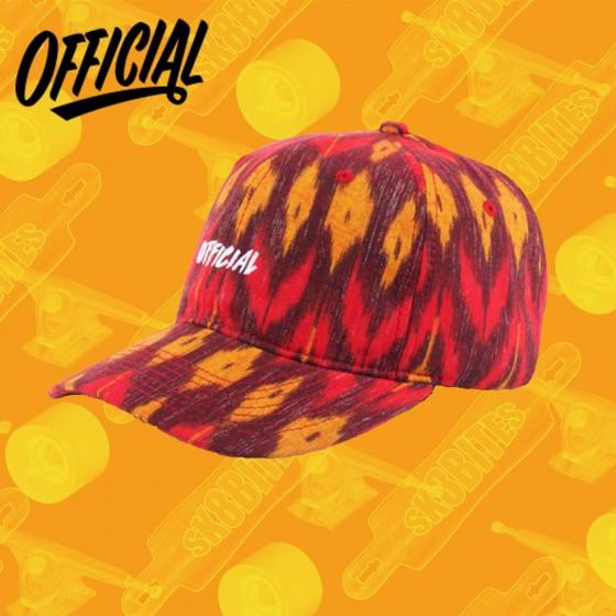 Official Sport Artisan Red Skate Streetwear Strapback