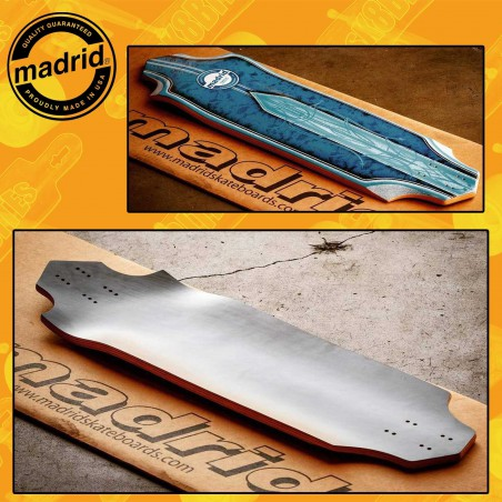 """Madrid Dominant Pro Series Max Dubler 34,5""""  Tavola Longboard Freeride Slide"""