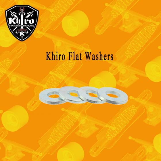 Khiro Flat Washers Longboard Skateboard Hardware