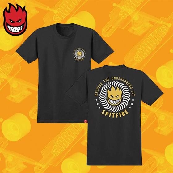 Spitfire KTUL T-Shirt Skateboard Streetwear Unisex