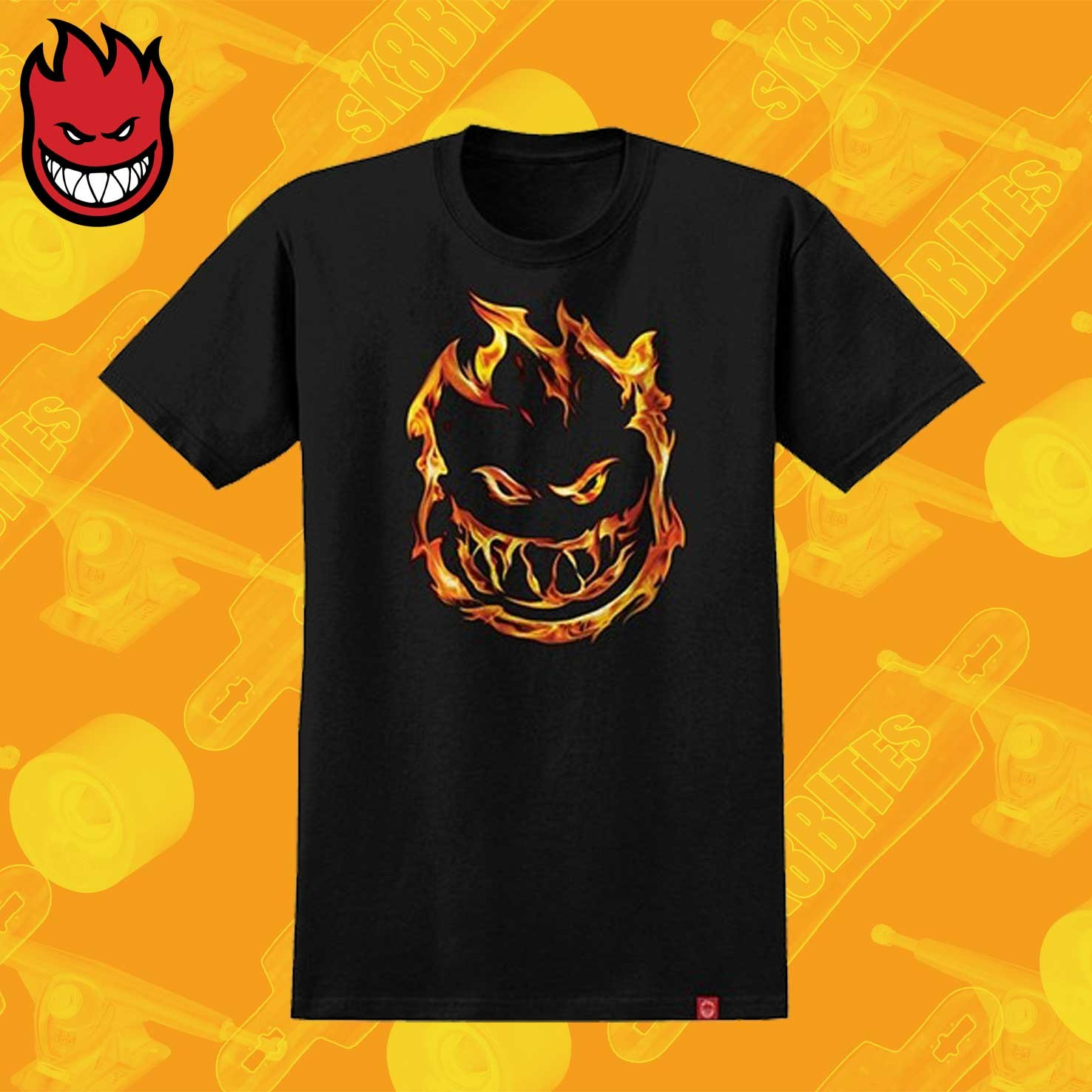 Maglietta Shirt Spitfire T 451 Unisex Skateboard Premium Streetwear vm0y8PwNnO