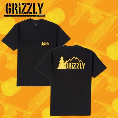 Grizzly Recreational Unit Orange T-Shirt Skateboard Streetwear Unisex