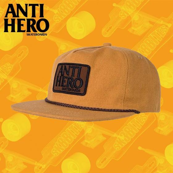 Antihero Reserve Patch Snapback Aloe Green  Skate Streetwear Strapback
