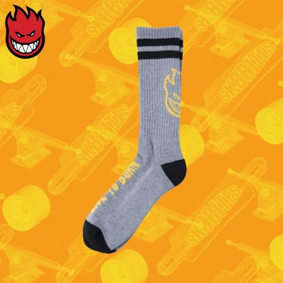 Spitfire Heads Up Sock Skateboard Street Unisex
