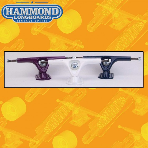 Hammond Fifty 180mm 50° Attacchi Longboard Freeride Trucks