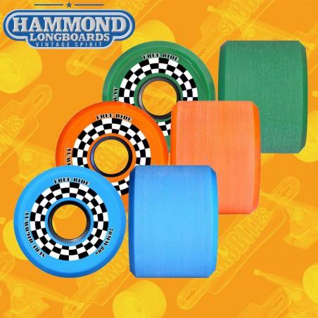 Hammond DNA The Gene 75mm Longboard Slide Freeride Wheels
