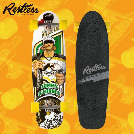 "Restless Rocksteady Slash 30,5"" Complete Cruising Carving Deck"