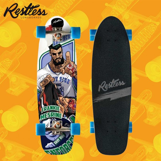 "Restless Rocksteady Brawlers 30,5"" Complete Cruising Carving Deck"