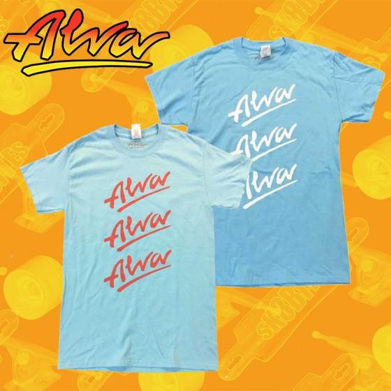 Alva Tri-Logo T-shirt Maglietta Skateboard Unisex