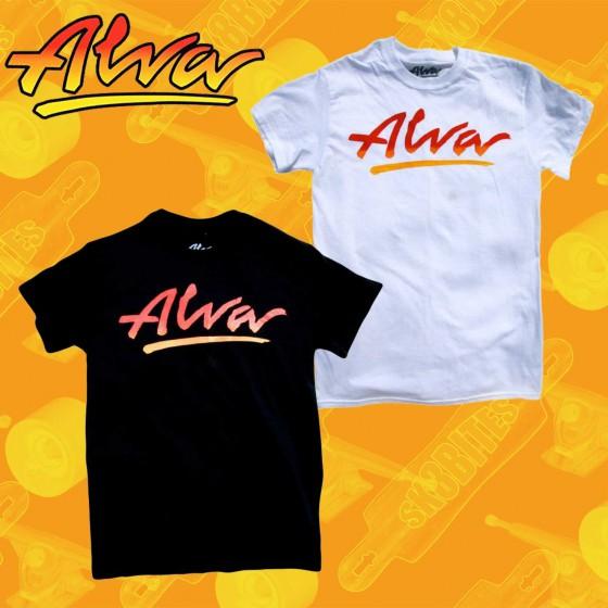 Alva OG Logo T-shirt Maglietta Skateboard Unisex