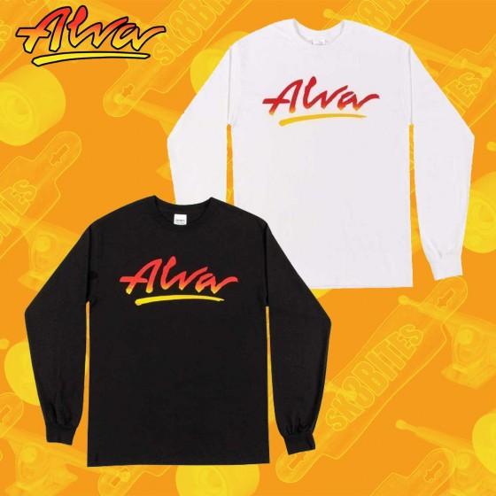 Alva OG Logo Longsleeve Maglietta Skateboard Unisex