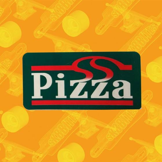 Pizza Skateboards Sticker Green Adesivo Skateboard Longboard