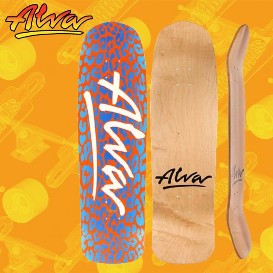 Alva Urban Guerilla Orange Blue 8,75