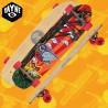 "Rayne Anthem BTB Graphic 36"" Tavola Longboard Cruising Carving Freeride"