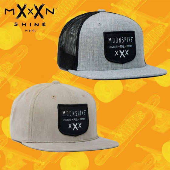 Moonshine Shield Snapback  Skate Streetwear