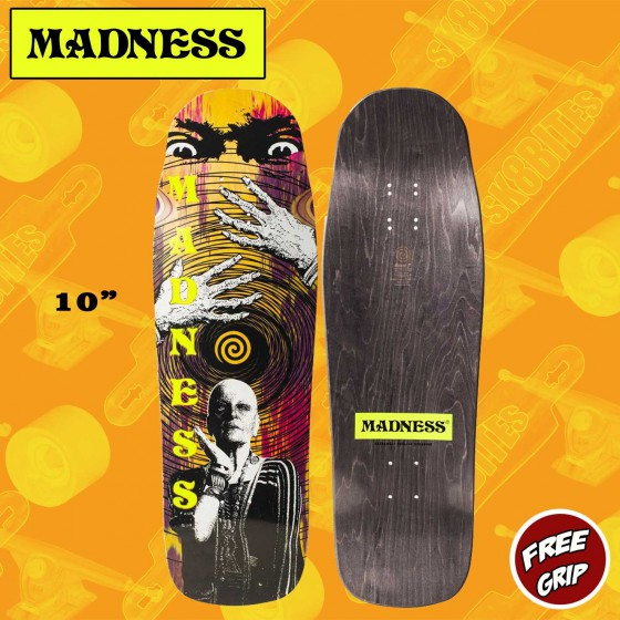 "MADNESS Drop Out 10.0"" R7  Tavola Skateboard Street"