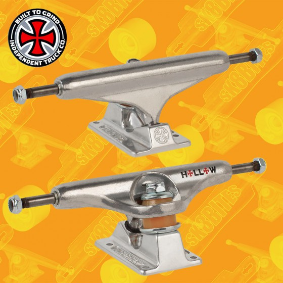Independent Stage 11 Forged Hollow Silver 169mm Skateboard Street Trucks