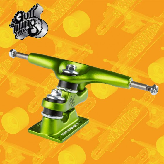 "Gullwing Charger Resin 9"" Longboard Freeride Slide Truck"