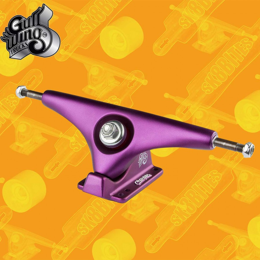 """Gullwing Charger Black 9""""/160mm Longboard Freeride Slide Truck"""