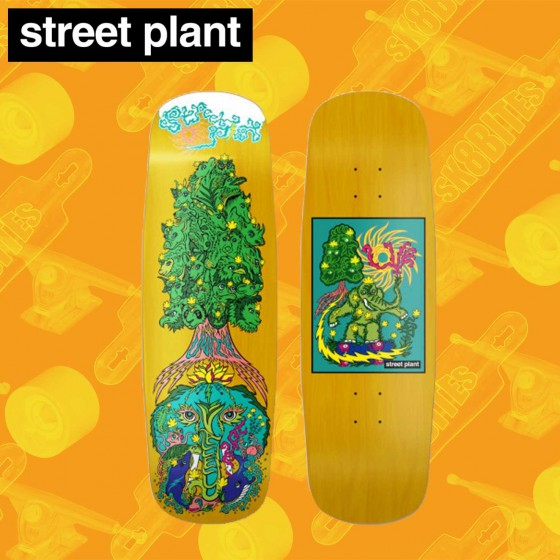 "Street Plant Ever Rad 8.5"" Tavola Skateboard Street"
