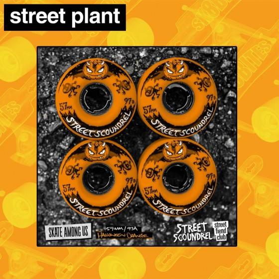 Street Plant Street Scoundrels Blancos 56mm Ruote Skateboard Street