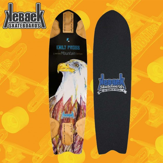"Kebbek Emily Pross Mountain Limited Edition 33"" Dancing Freestyle Deck"