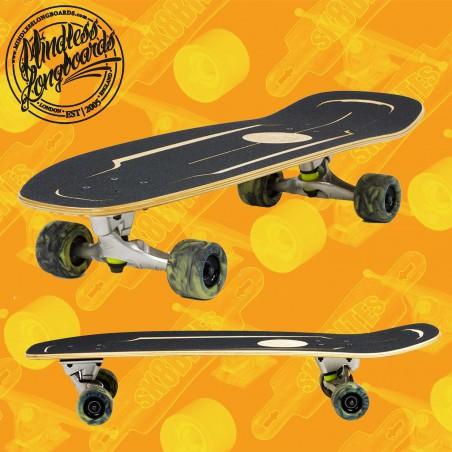 """Mindless Surfskate Black 30"""" Surfskate Carving Deck"""