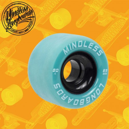 Mindless Viper 65mm Red Longboard Surfskate Cruising Wheels