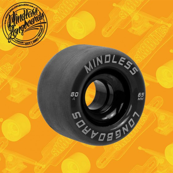 Mindless Viper 65mm Red Longboard Surfskate Cruising Wheels
