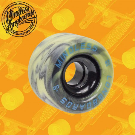 Mindless Viper 65mm Black Longboard Surfskate Cruising Wheels