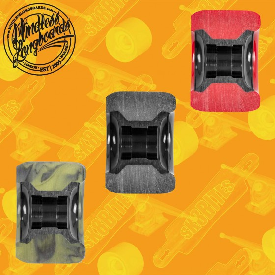 Mindless Viper 65mm Swirl Longboard Surfskate Cruising Wheels