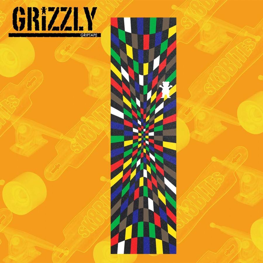Grizzly Griptape Acid Test Grip Adesivo Skateboard Street