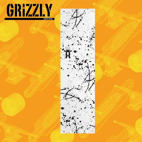 Grizzly Griptape Acid Test Street  Skateboard Grip