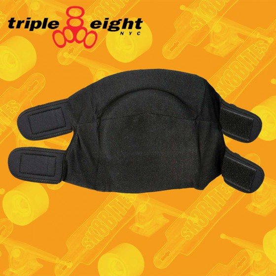 Triple Eight Street Knee Pads White Ginocchiere Skateboard Street Skatepark