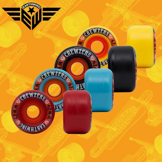 Blood Orange Smoke 69mm Longboard Slide Freeride Wheels