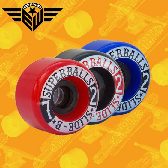 Earthwing Crewzers 62mm Longboard Slide Freeride Wheels