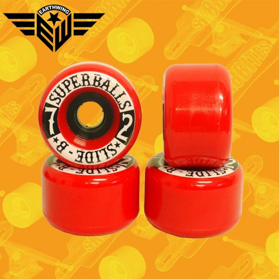 Earthwing Wheels Slide B 72mm Longboard Slide Freeride Wheels